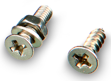 Screw set for mounting fixtures for Reptile Rain (TR)